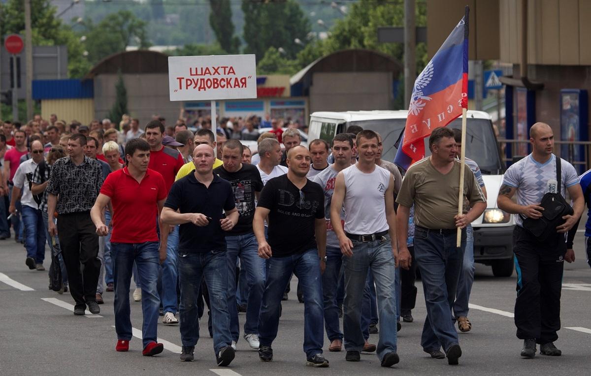 """Боевики """"ДНР"""" в Макеевке закрывают шахты и не платят зарплаты - Цензор.НЕТ 7185"""