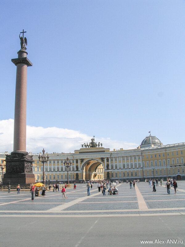 Снова Дворцовая площадь