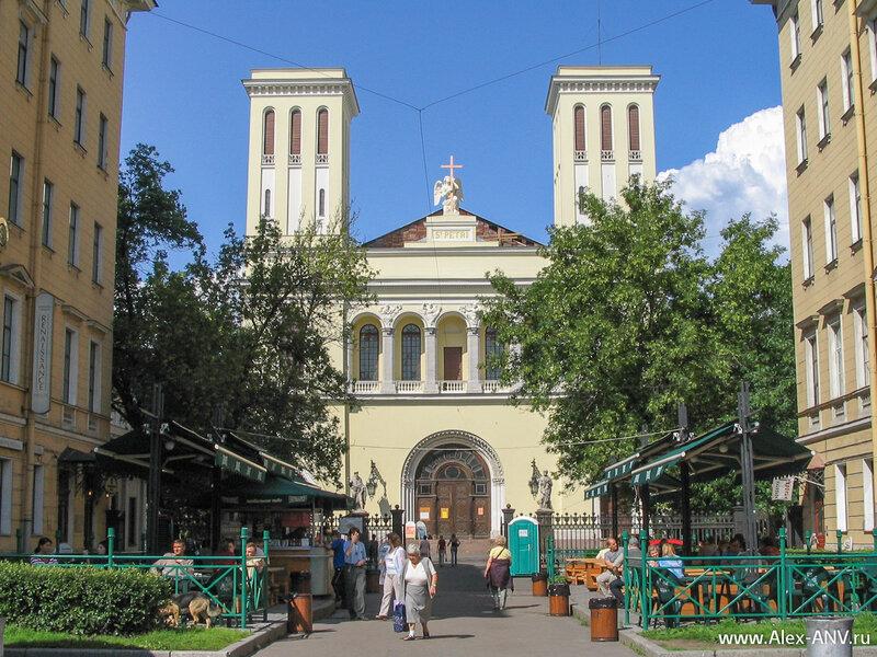 Немецкая протестантская церковь святого Петра