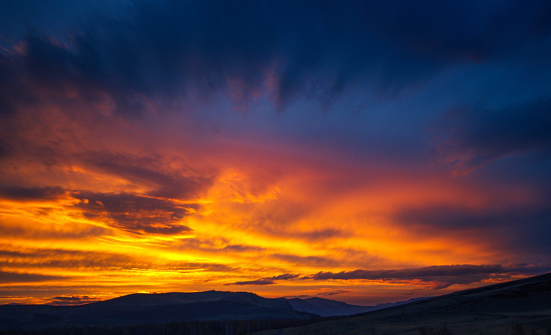 Закат над Сундуками