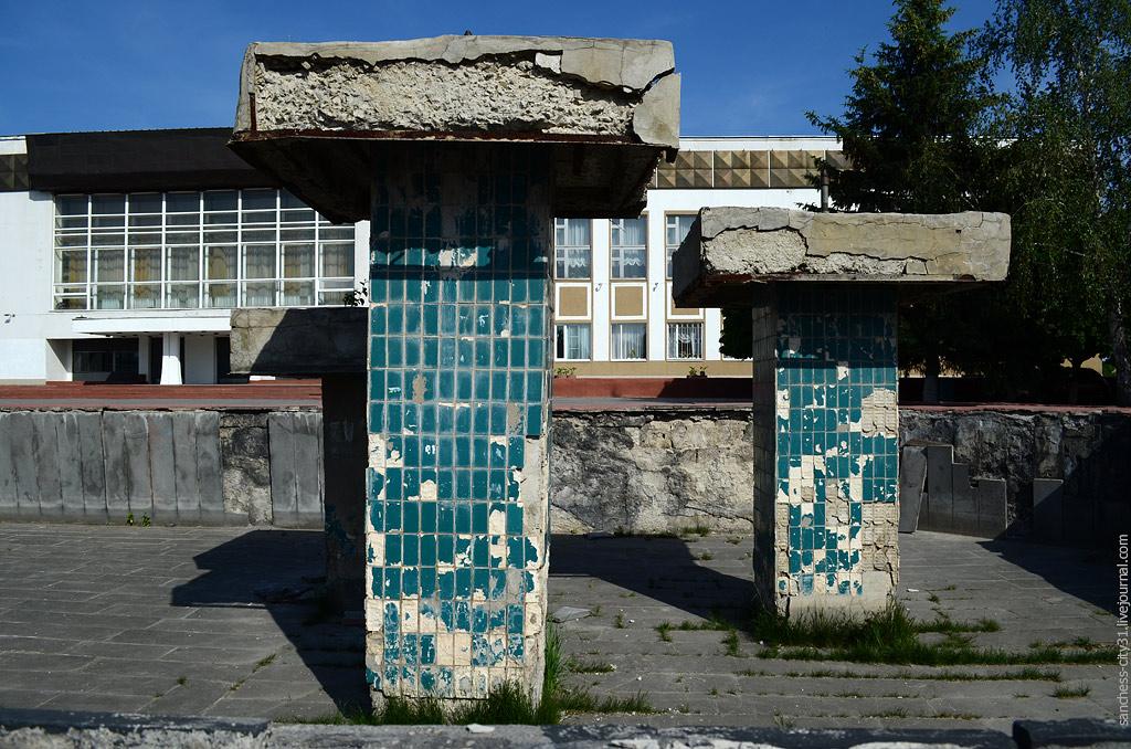 фонтан у БГЦНТ Белгород, фото Sanchess