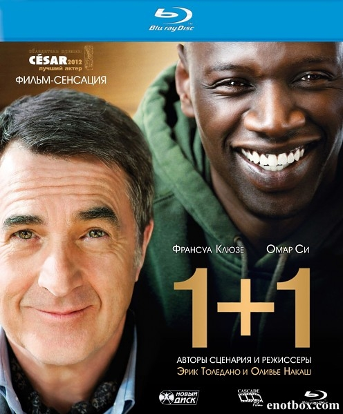 1+1 / Неприкасаемые / Intouchables (2011/BDRip/HDRip)