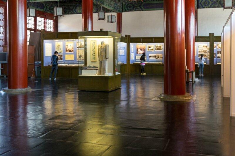 Экспозиция музея Сунь Ятсена, парк Чжуншань гунъюань, Пекин