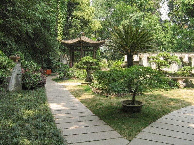 В саду карликовых деревьев, Люхэта, Ханчжоу
