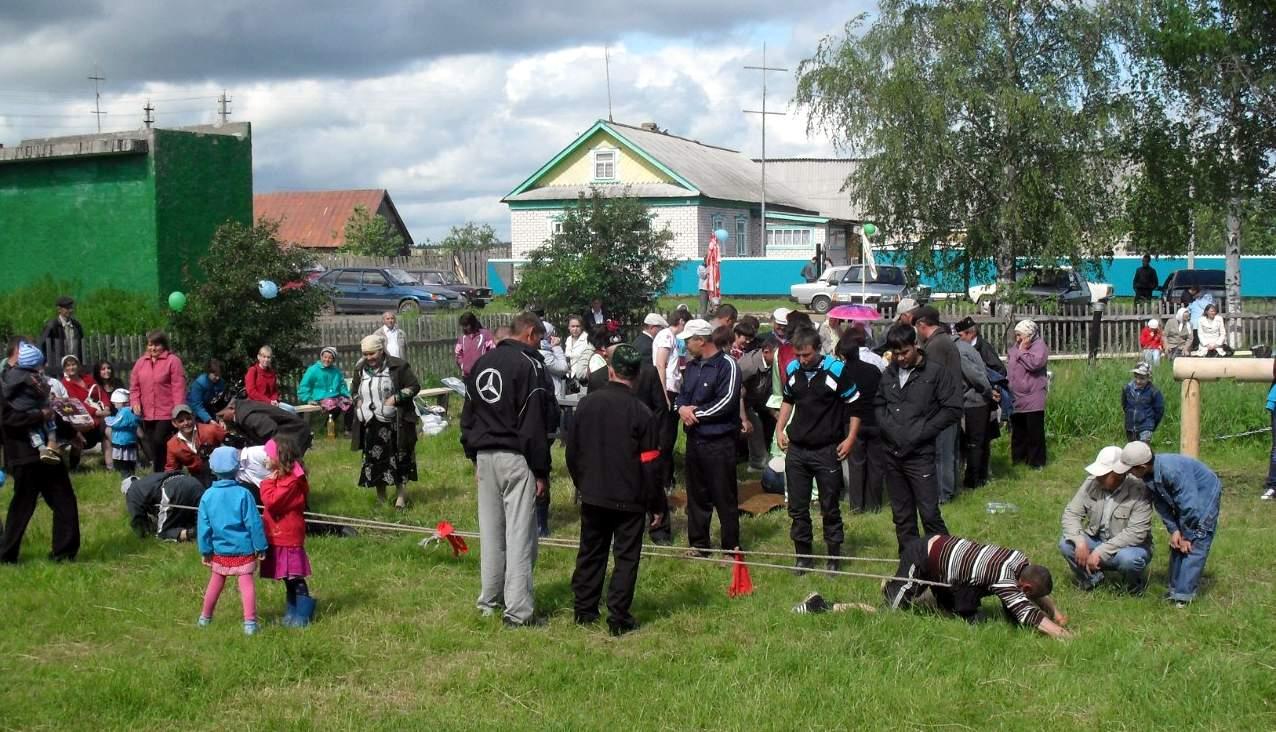 Деревня Шишинер, вятские татары