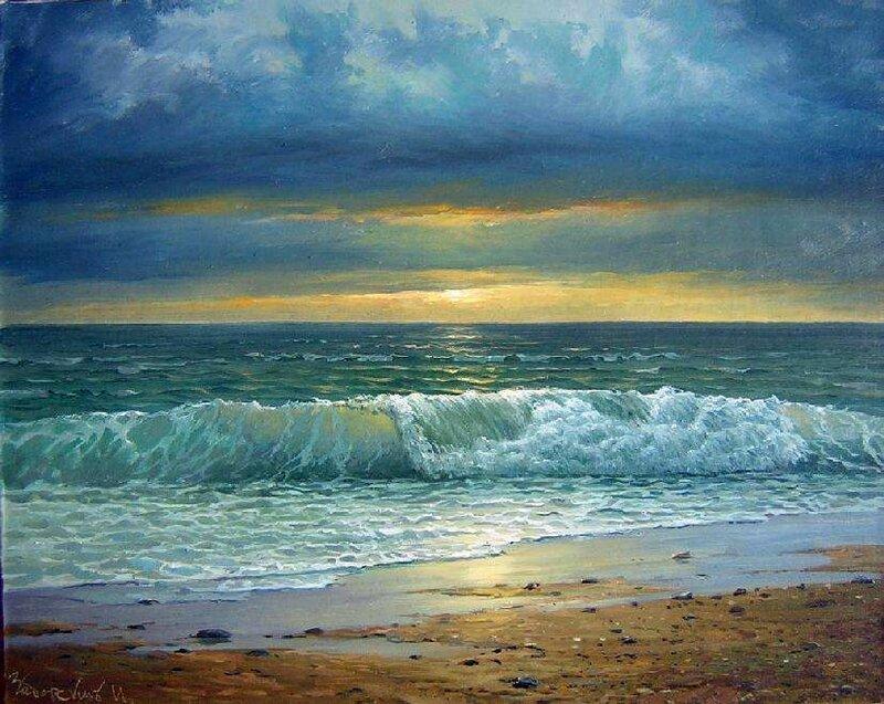 Я встречаю закаты, с морской синевой. Заборских Игорь