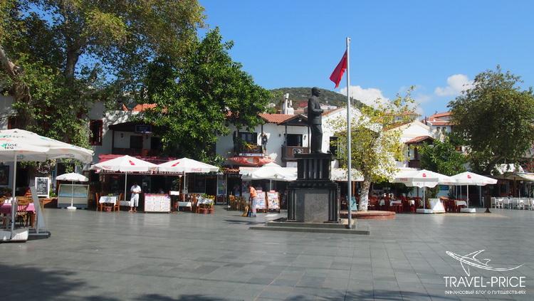 площадь в Каше