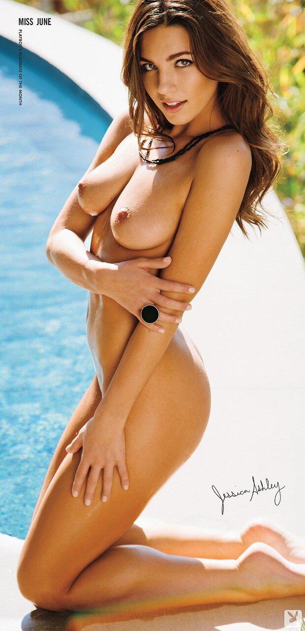 большой постер / Девушка месяца Jessica Ashley - june 2014 playmate / Playboy USA