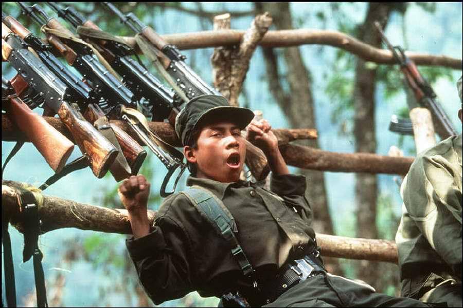 Гватемальские повстанцы немецкого фотографа Thomas Hoepker (1)
