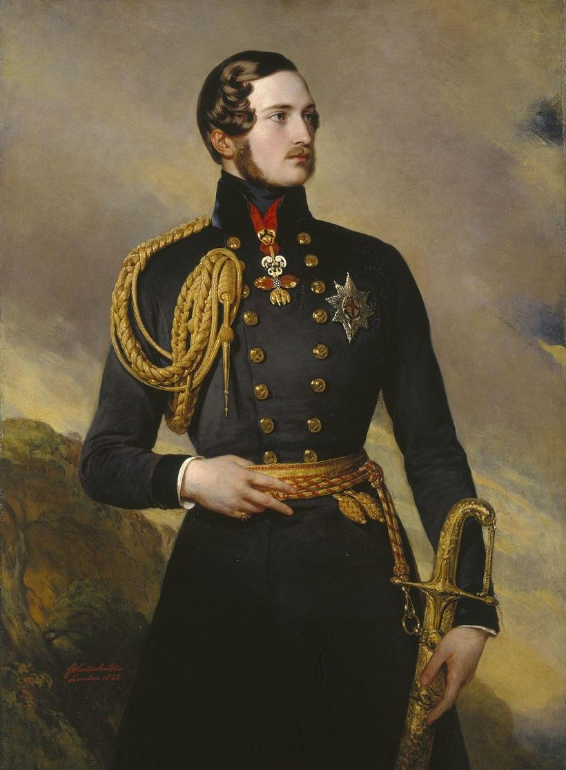 Принц Альберт (1819-61)  Подпись и дата 1842