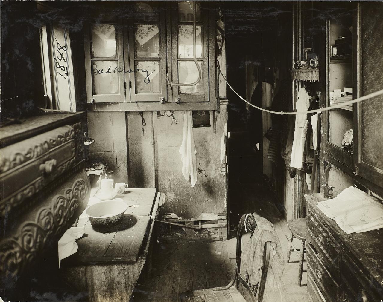 Кухня в доходном доме. 1910.