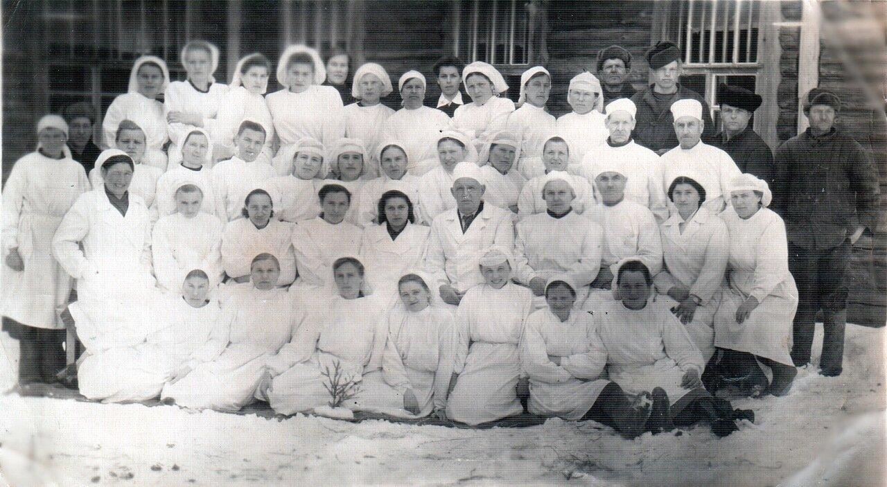 Коллектив районной больницы