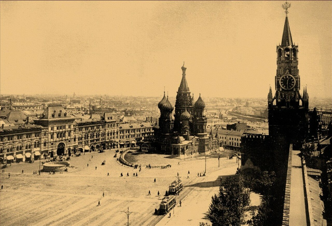419. 1911. Красная площадь