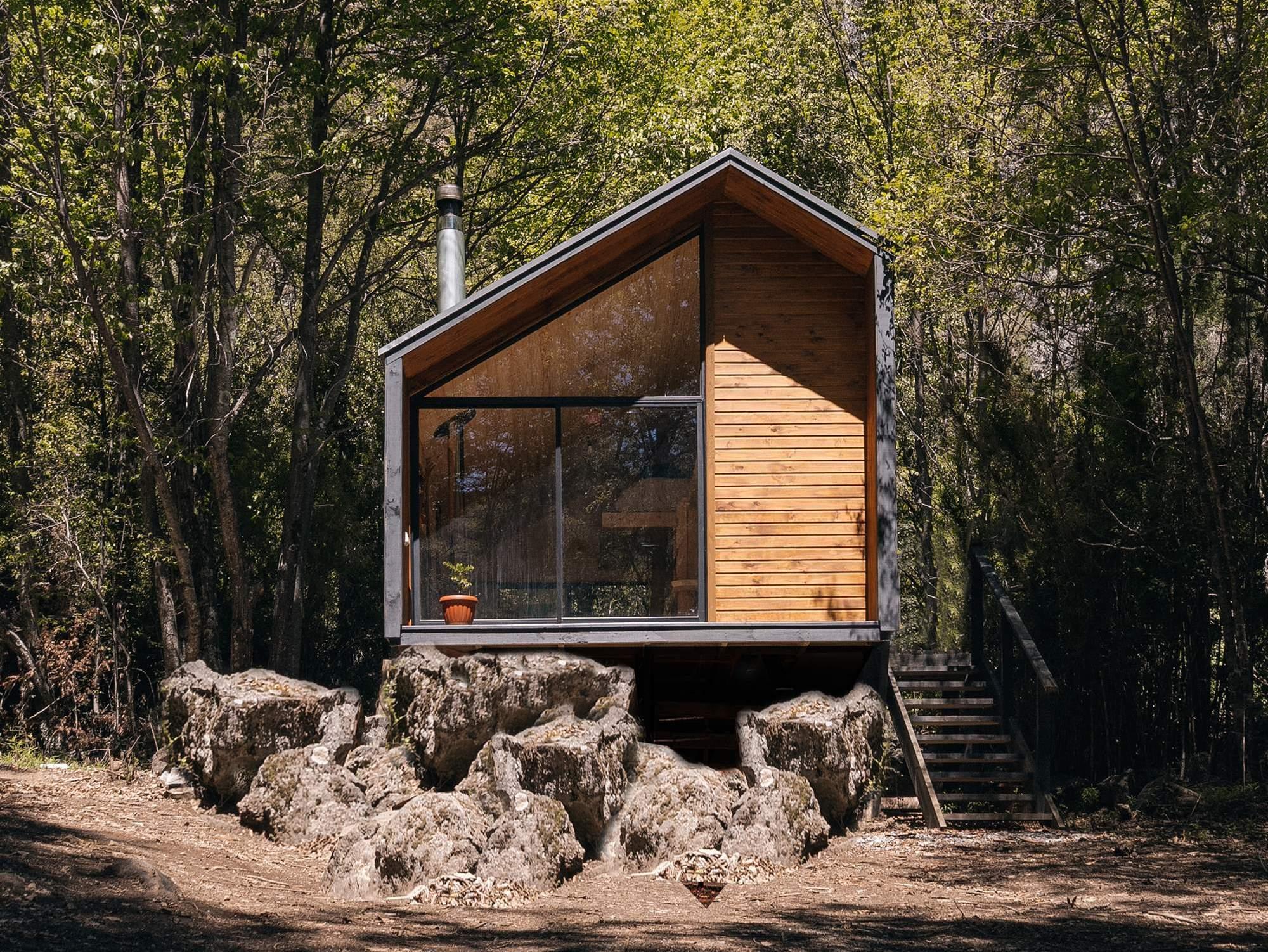 Уютный домик в чилийских горах