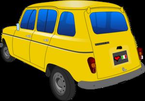 желтые автомобили