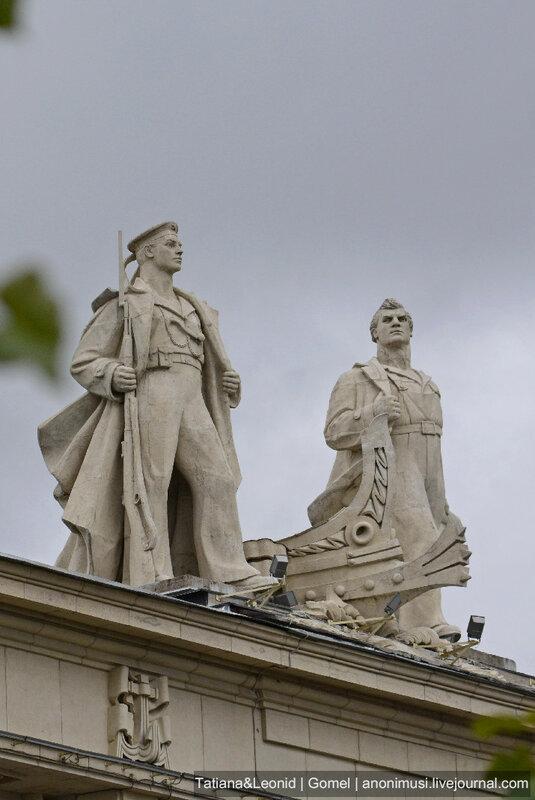Скульптуры в Санкт-Петербурге