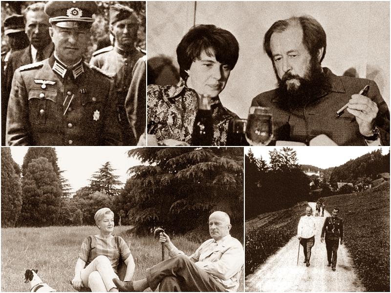 Хольмстон-Смысловский, Солженицын