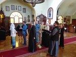 Празднование Входа Господня в Иерусалим в русско-сербском приходе в Сантьяго, Чили