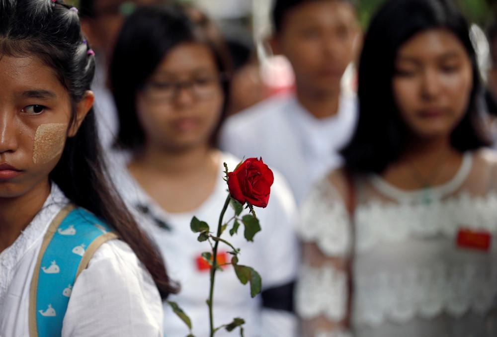 Интересные кадры из Мьянмы
