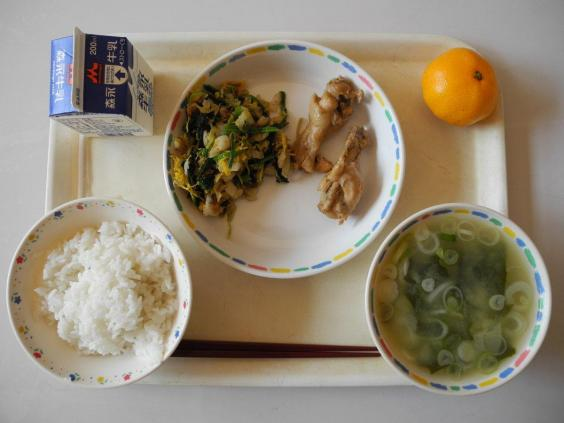 воспитание обед образование питание продукты школа школьники Япония