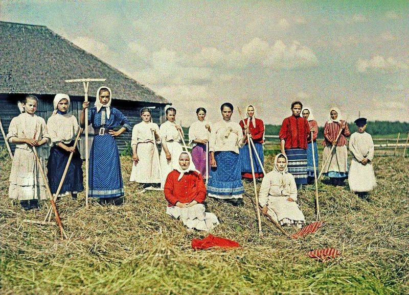 Дореволюционная Россия в цветных фотографиях