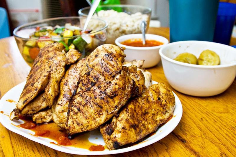 10 вкуснейших блюд из куриного филе (10 фото)