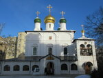 Купола Сретенского монастыря.