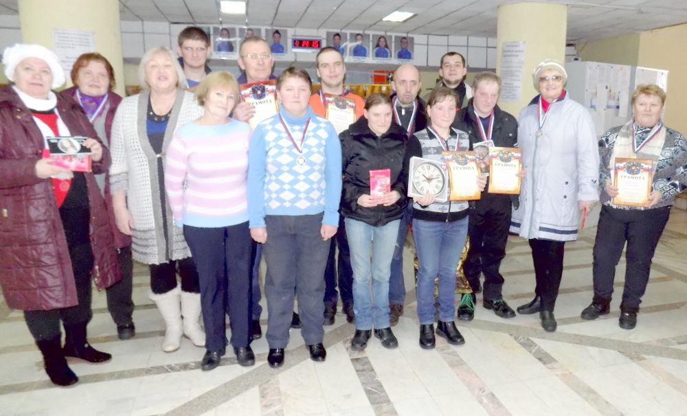 Команда Дома-интеранта для инвалидов и престарелых стала победительницей турнира по плаванию.