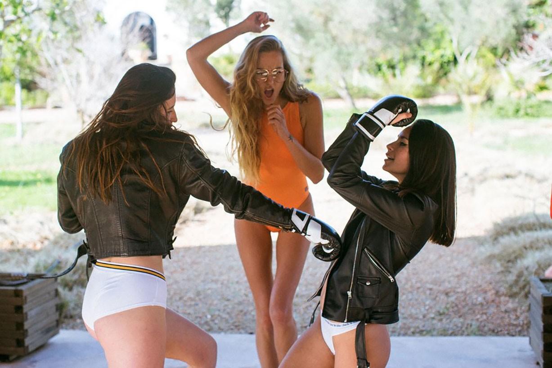 Laura-Jane Schmidt, Carla Guetta, Gabriela Velvet by Rosa Scipion - Rekt Magazine