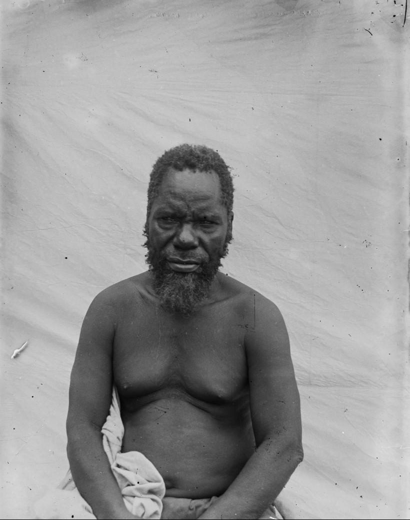 14. Антропометрическое изображение мужчины макуа