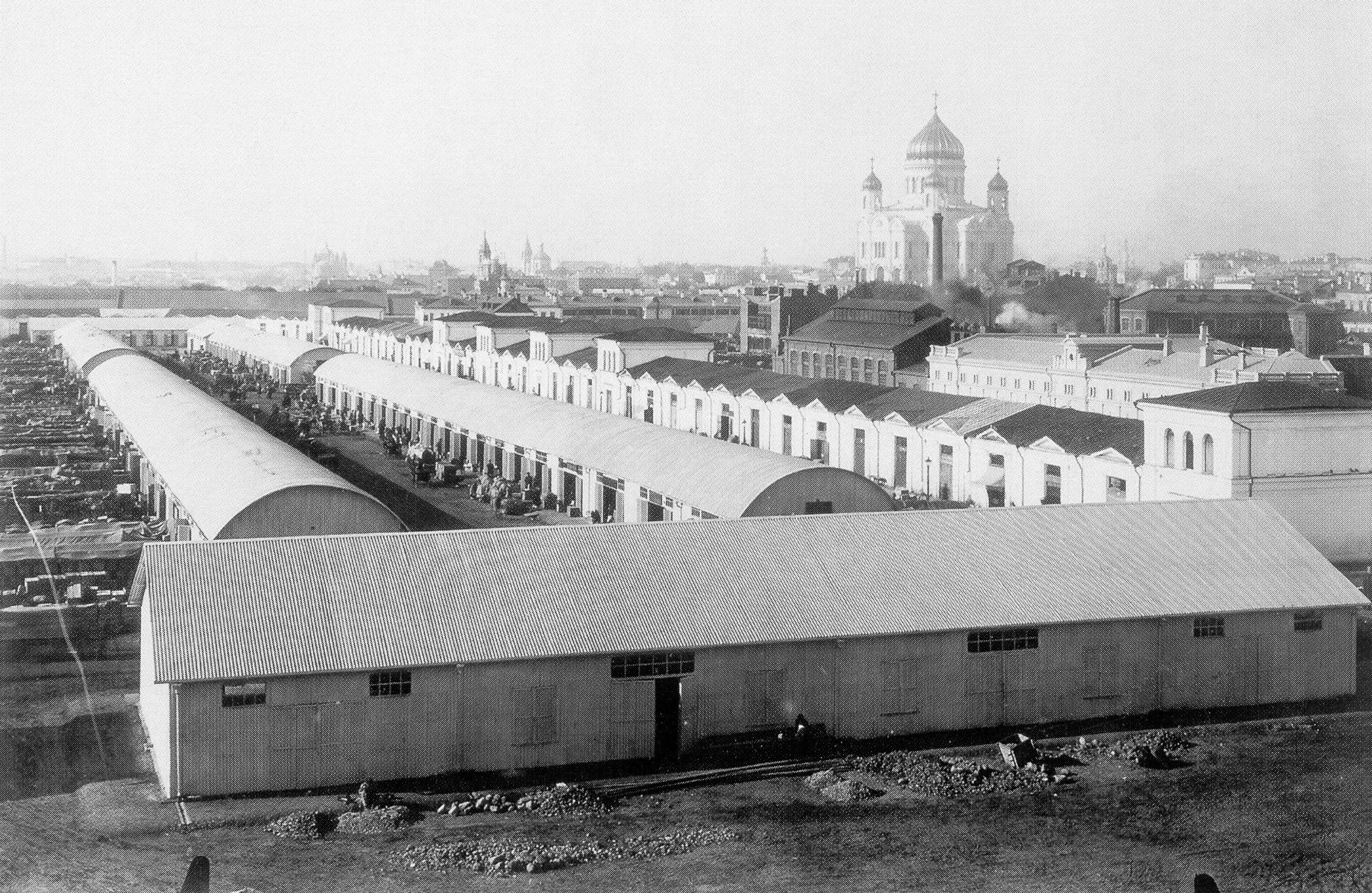 Рынок на Болотной площади