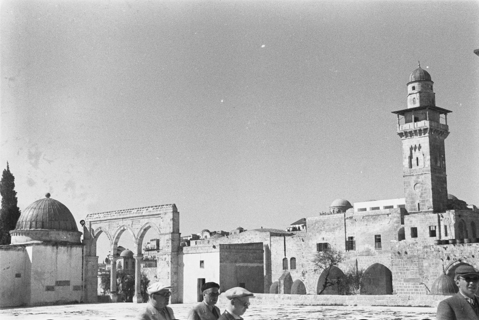 Минарет мечети аль-Акса