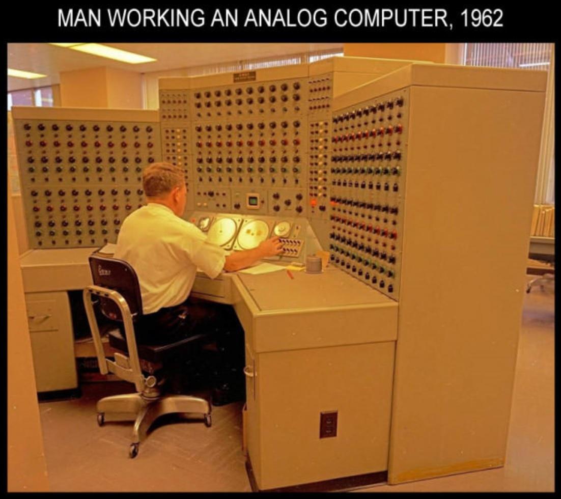 Аналоговый компьютер, 1962 год, США