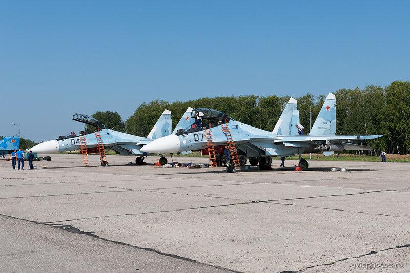 Сухой Су-30СМ (RF-91902 / 07 черный) ВКС России 0030_D703502