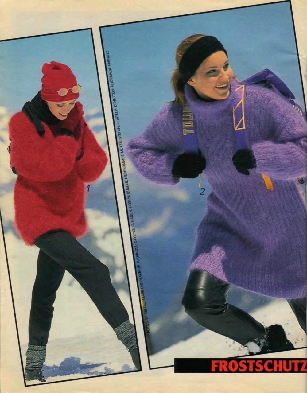 схемы вязания verena 1995 10