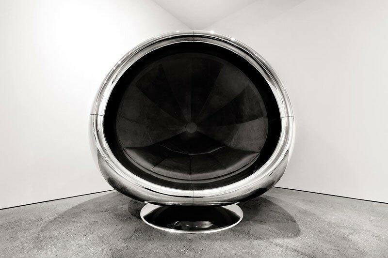 Fallen Furniture   удивительная мебель из частей самолетов