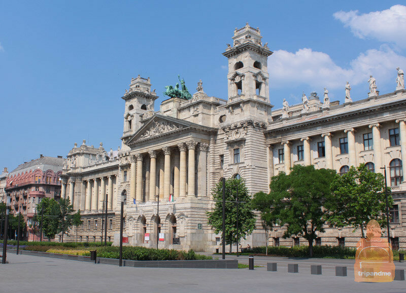 Этнографический музей расположен рядом с парламентом