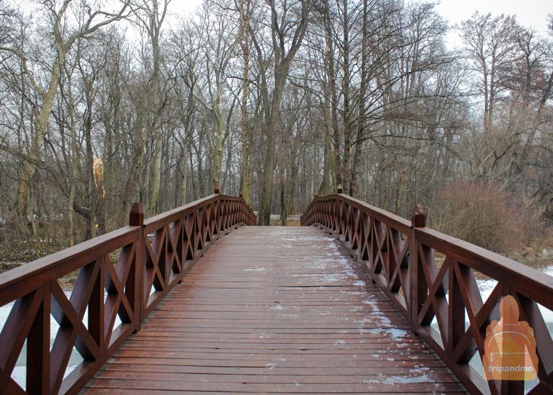 Парк в замке Брунсвик