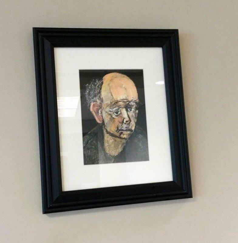 Автопортреты художника с болезнью Альцгеймера