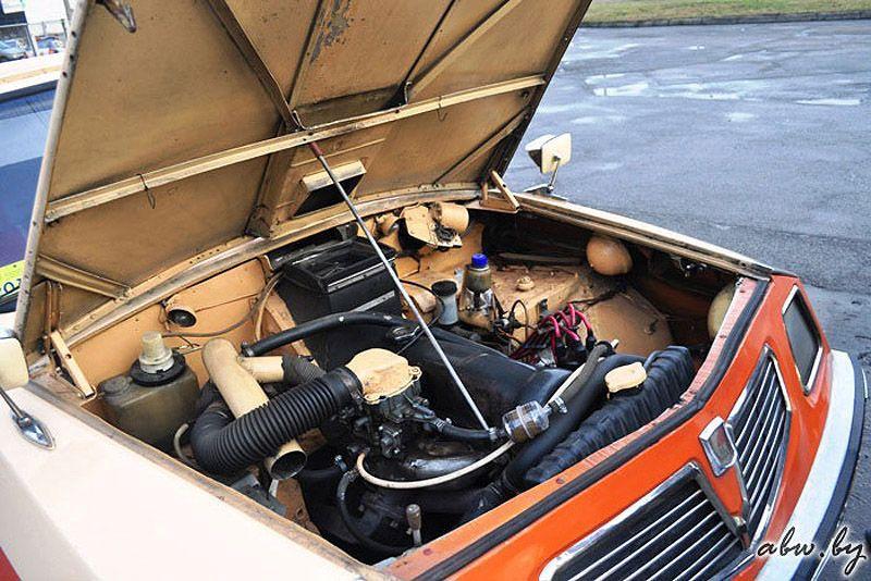 """Первоначально двигатель и трансмиссия была установлена от """"запорожца"""", автомобиль имел з"""
