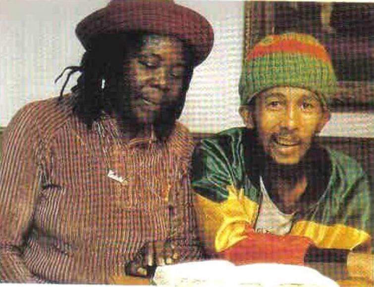 Боб Марли, это последний известный снимок перед его смертью