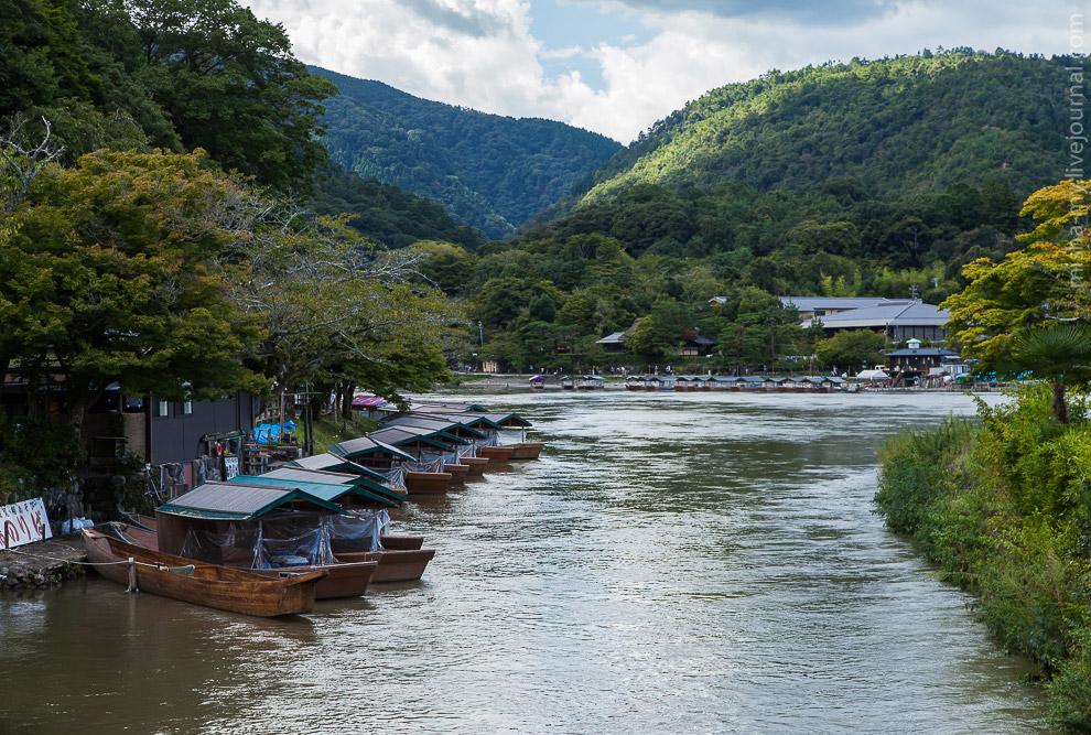 11. Сразу за мостом находится вход в парк обезьян Iwatayama. Чтобы добраться до обезьян придетс
