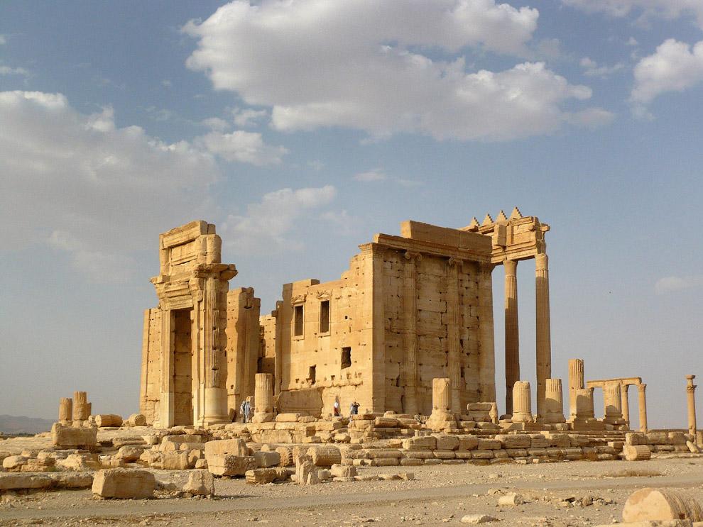 19. Храм Бэла, 4 августа 2010. (Фото Sandra Auger | Reuters):