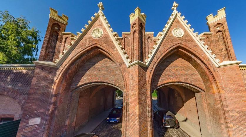 Бранденбургские ворота. Реставрация.