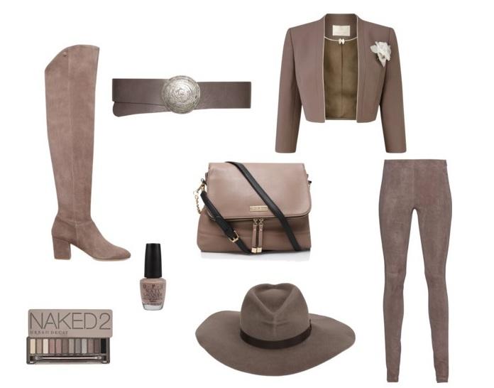Дизайнеры отмечают, что этот цвет идеально подходит для замши и кожи. Трендовые пальто и шляпы б