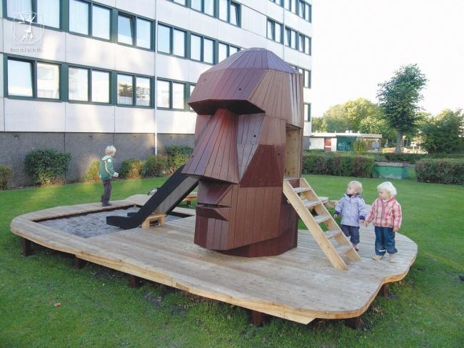 Дизайн детских площадок отмегапрофессионалов