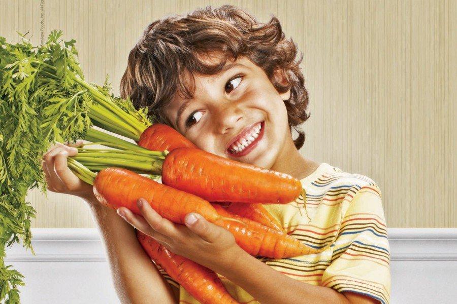 Нынешние дети незнают, как растут ивыглядят овощи сфруктами