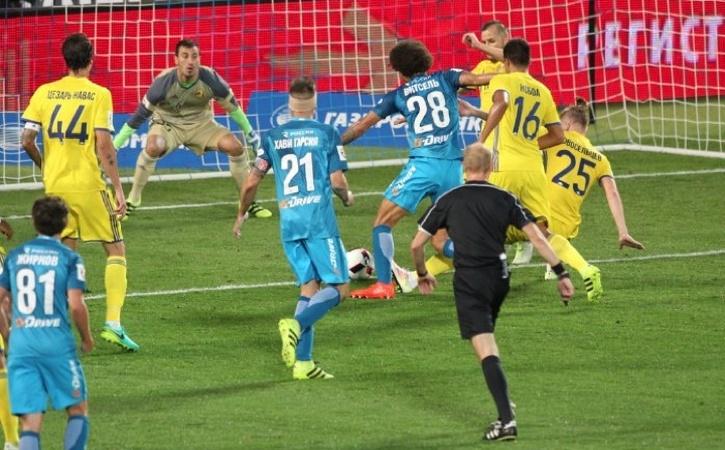 «Зенит» одержал победу над «Ростовом» вчемпионате РФ