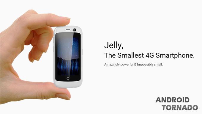 Будущее: самый небольшой вмире 4G-смартфон