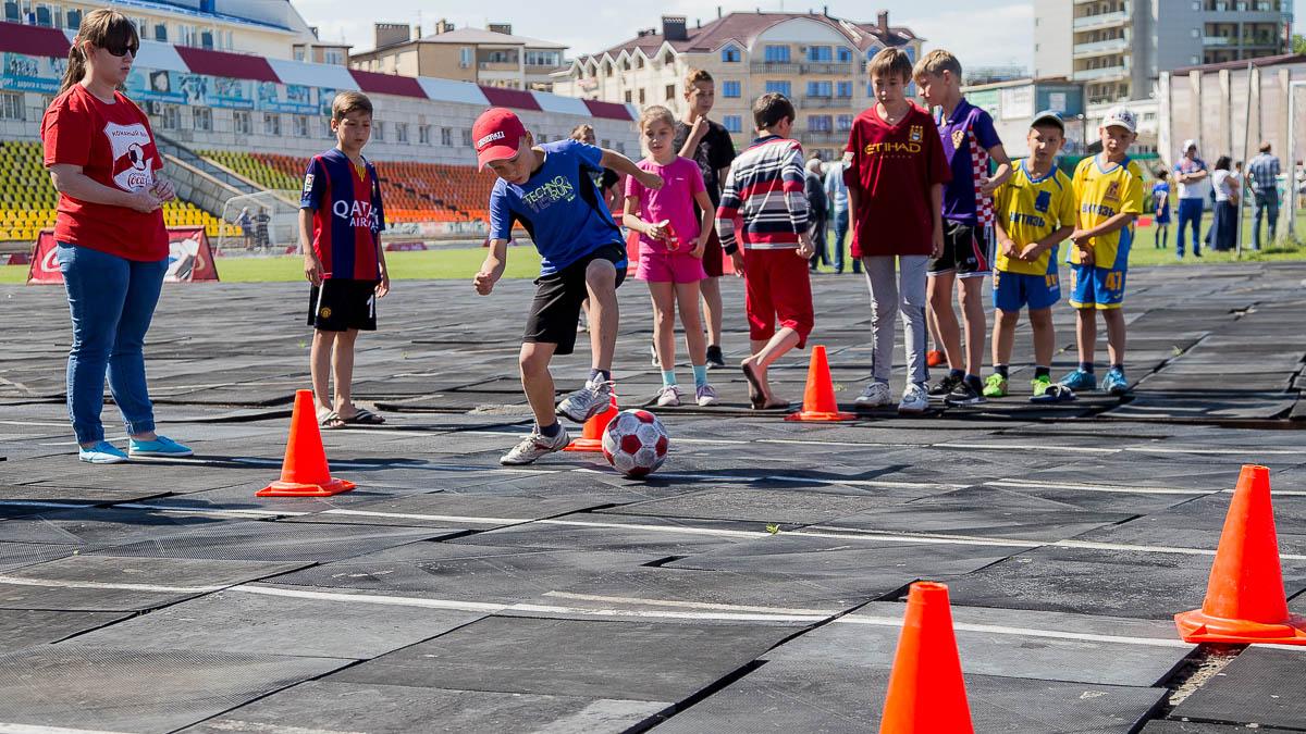 Анапа дети футбол